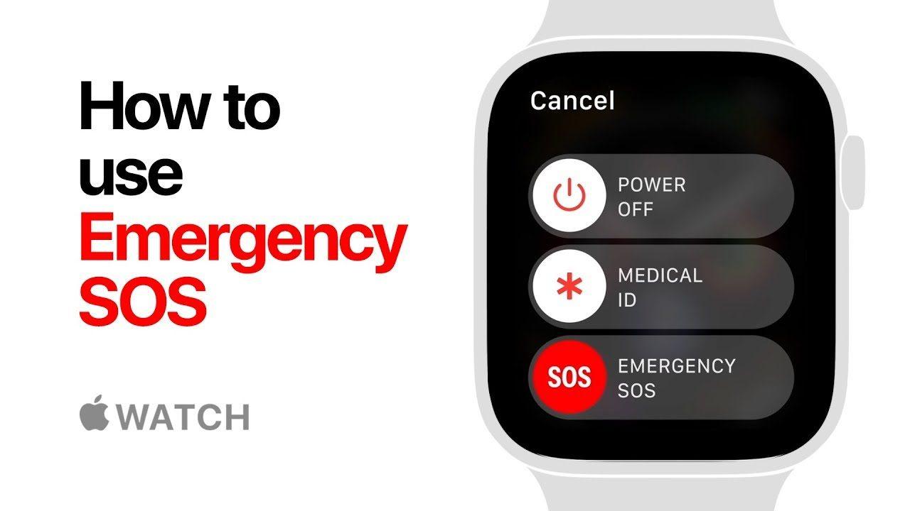 Apple Watch series 3 Emergency SOS