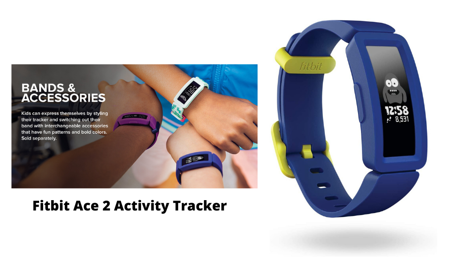 best-tracking-device-Fitbit Ace 2 Activity Tracker