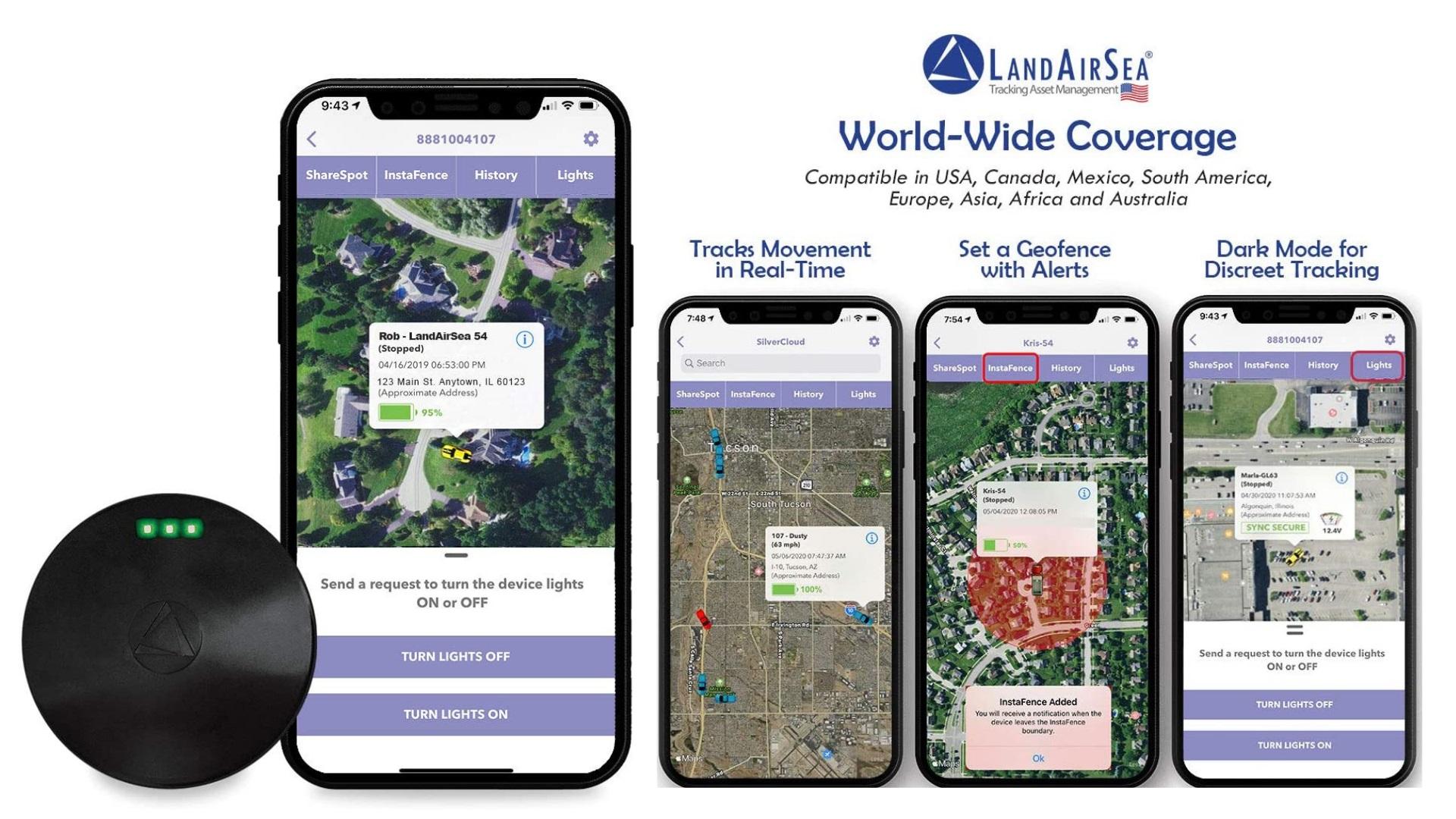 LandAirSea 54 - Real-Time Personal