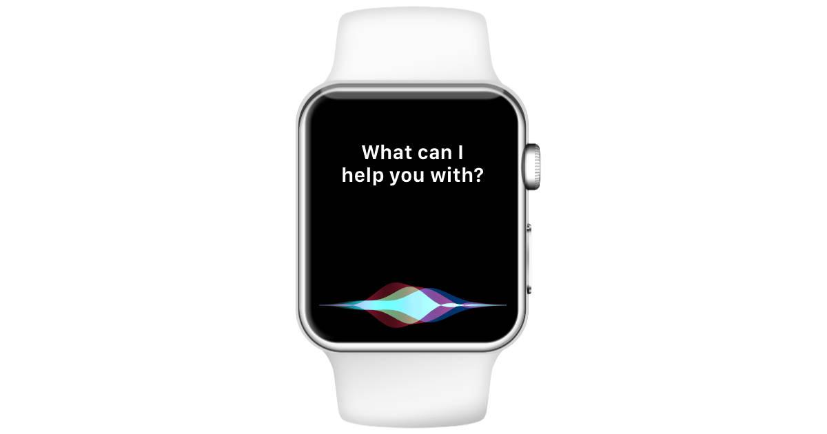 Apple Watch Series 3 Siri