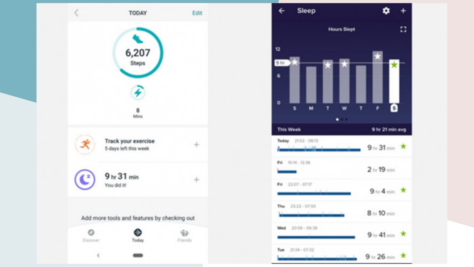 Fitbit Ace 2 Fitness Tracking