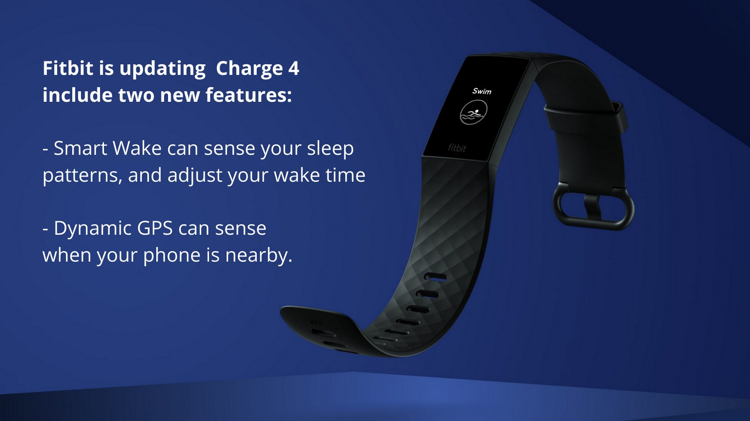 Fitbit Charge New Feature