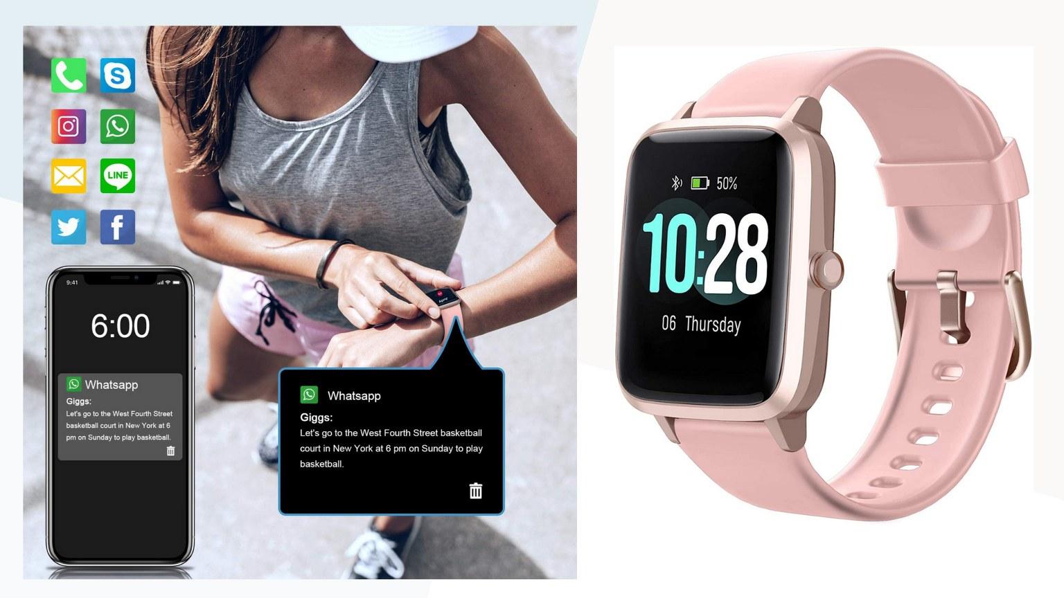 Letsfit Smart Activity Tracker