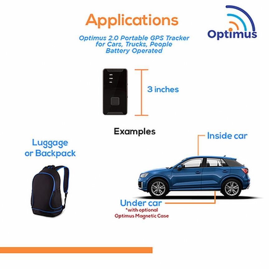 Optimus 2.0 Tracker Apps