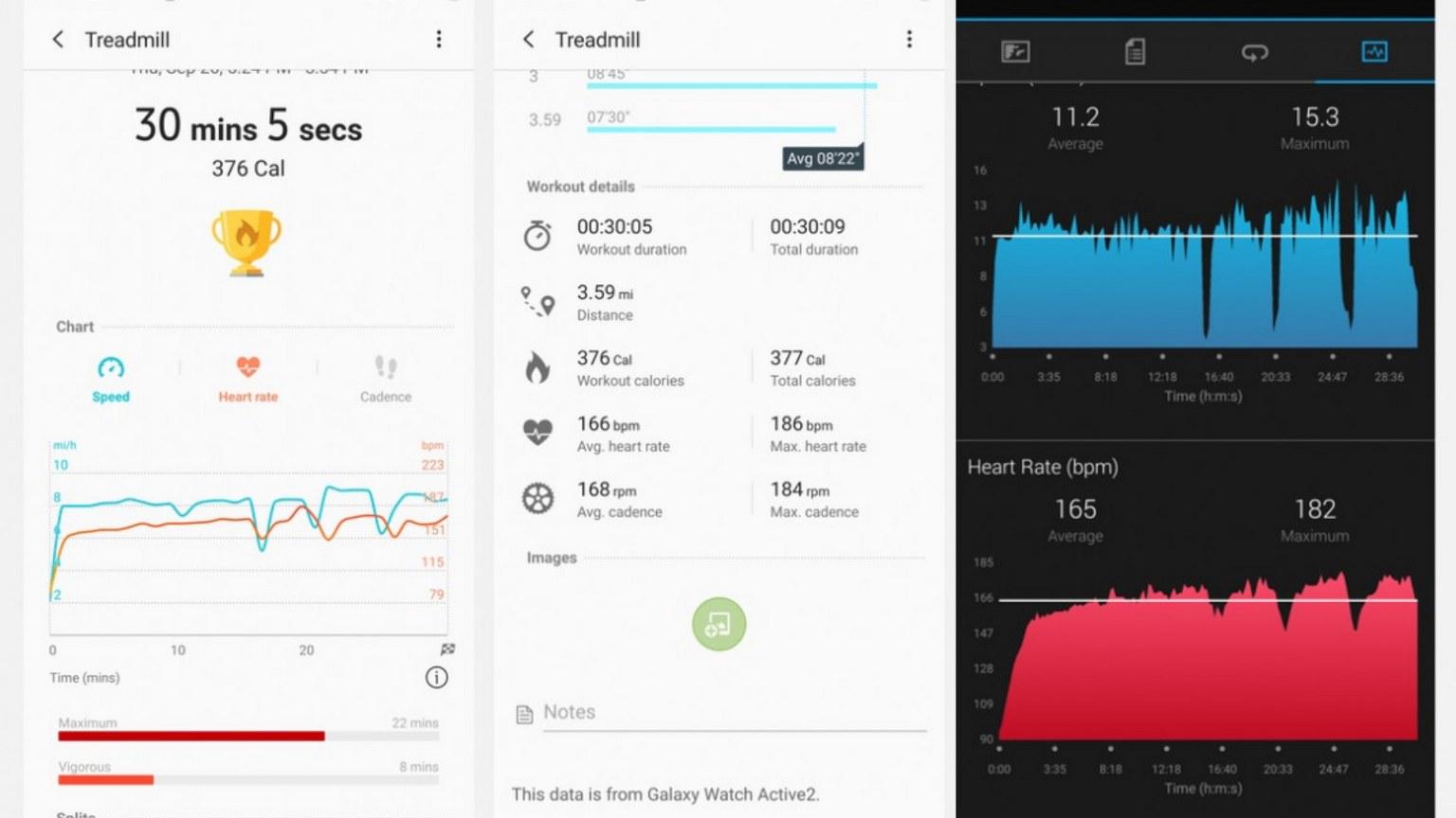 Samsung Galaxy Watch Active 2 Sleep Tracking