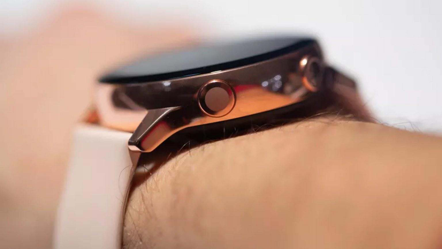 Samsung Galaxy Watch Active 2 button