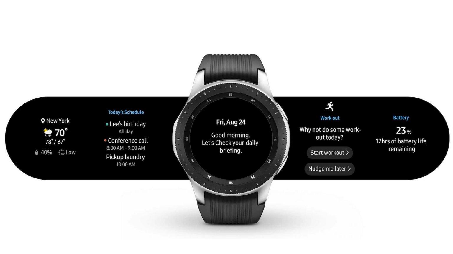 Galaxy Watch Activity