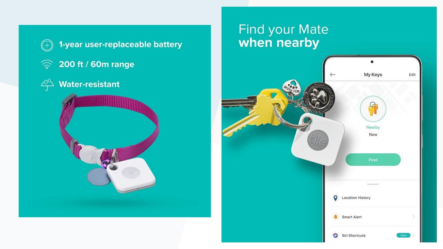 Tile Mate Tracker Battery