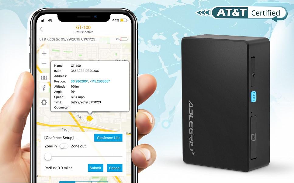 ABLEGRID 4G LTE GPS