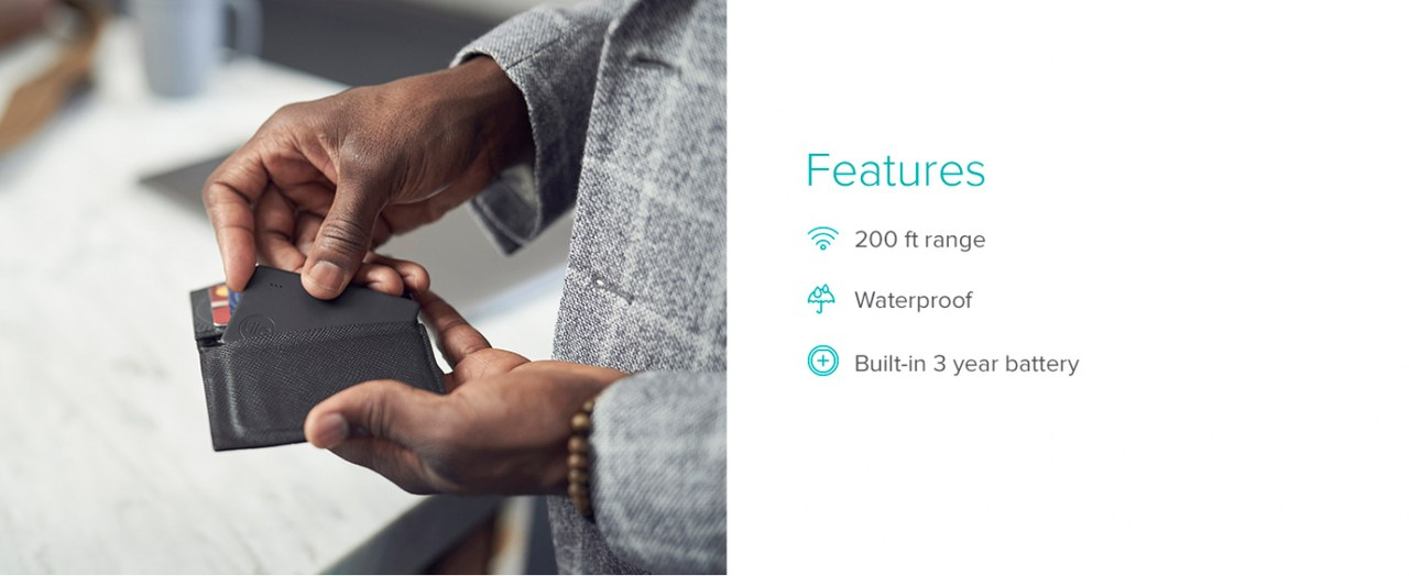 Tile Slim Tracker Features