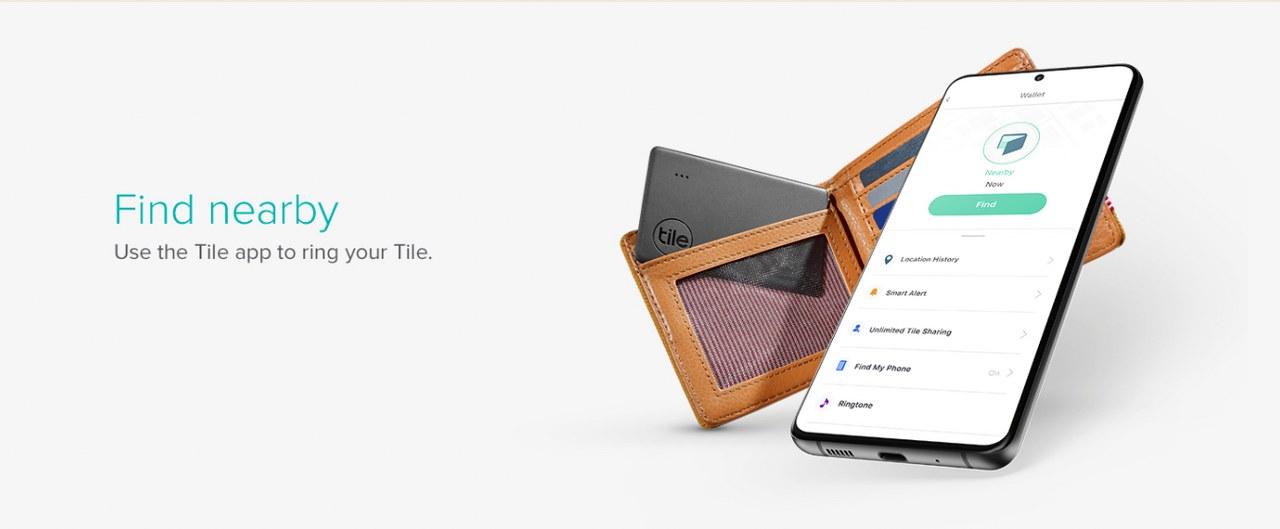 Tile Slim Tracker Find